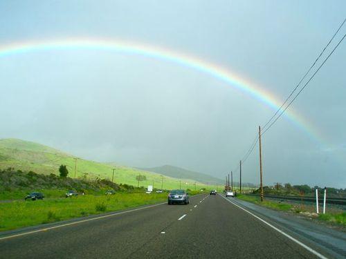 Hwy101 rainbow