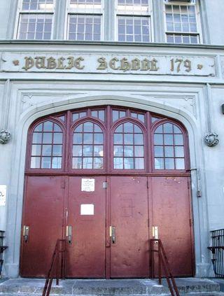 179 entrance