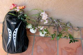 Backpack bouquet